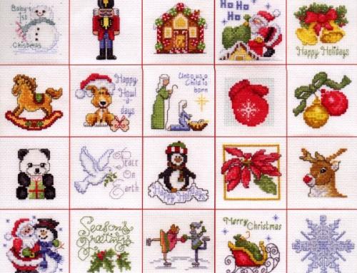 Karácsony 2011 – Keresztszemes motívumok
